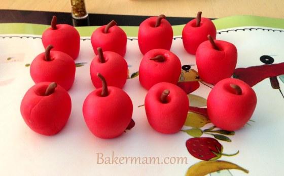 Sugar Paste Apples