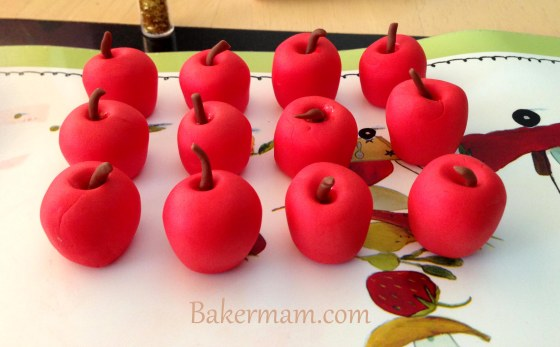 Sugar Paste Apples