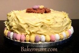 White Chocolate Ganache Cake