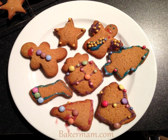 Decorated Gingerbread Treats