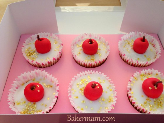 Apple Fairy Cakes for Teacher
