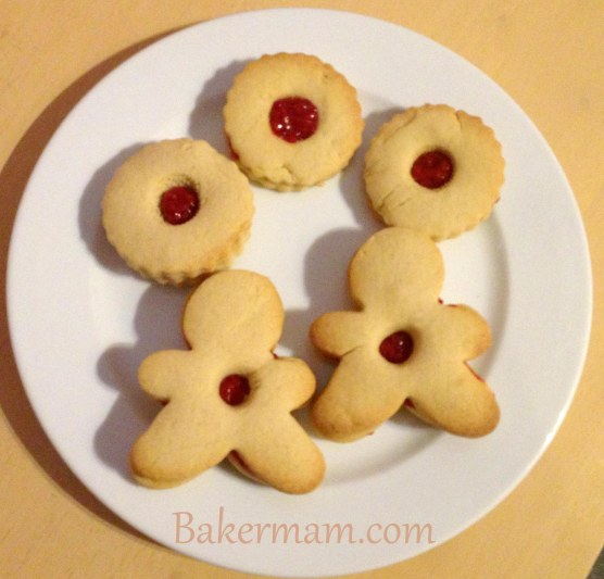 Vanilla & Raspberry Biscuits